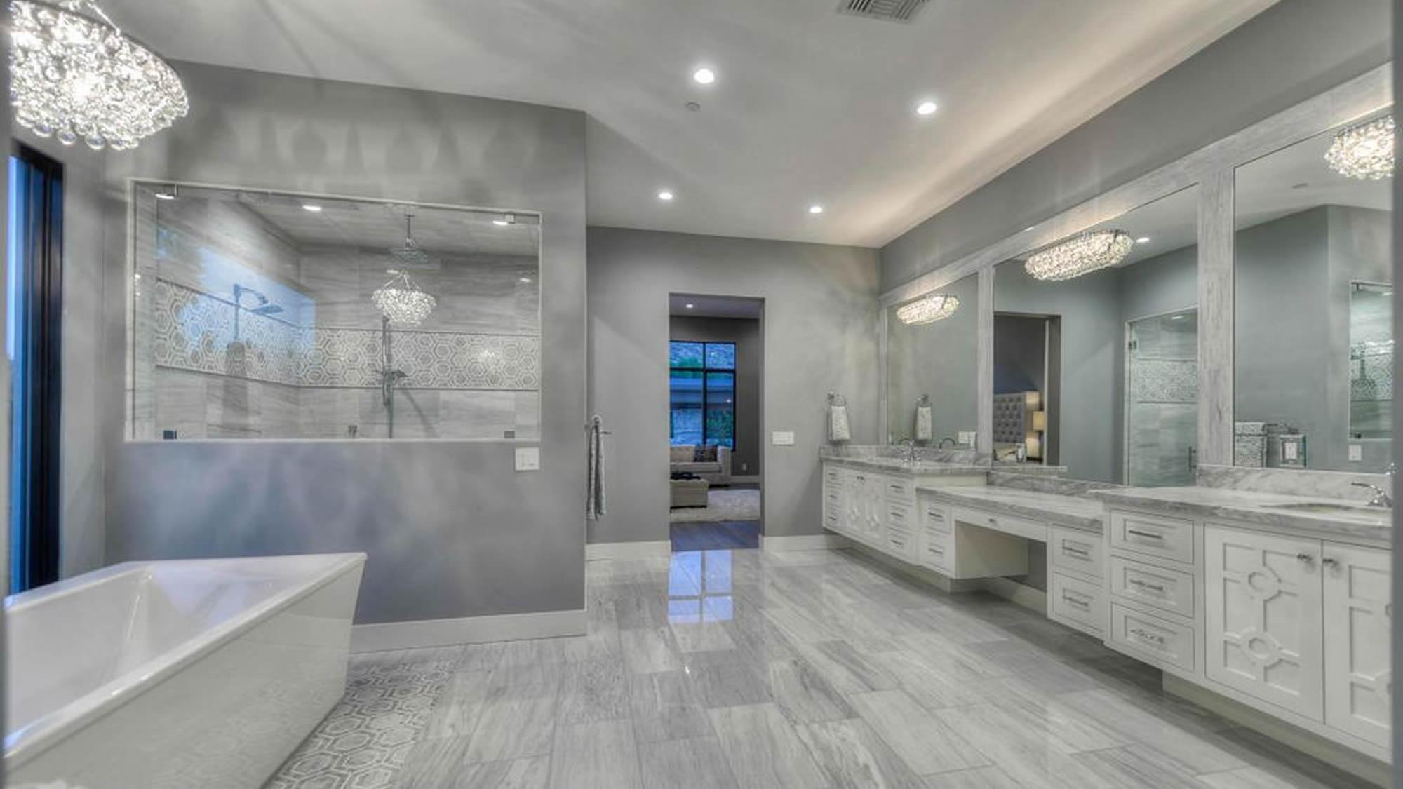 Full Bathroom remodel by HS3 in Scottsdale AZ